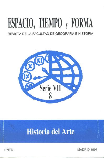 Espacio, tiempo y forma. serie vii, historia del arte. año 1995, n. 8