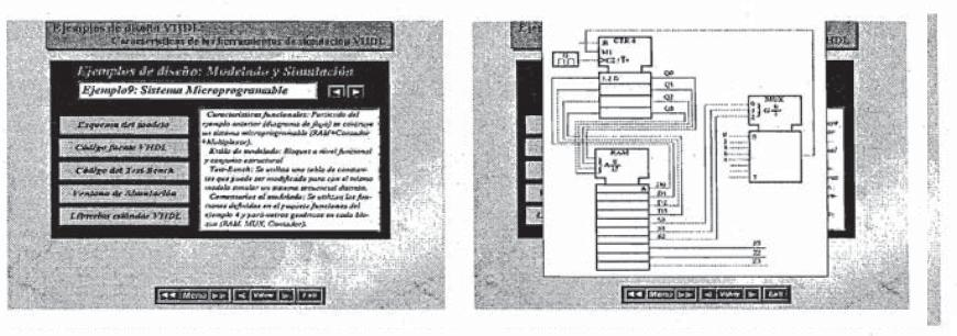 Herramienta CAD para la autoenseñanza de VHDL.